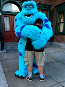 "My brother doesn't willingly hug anyone.  He went straight up to Sully (past the line of people) and gave him a ""Big Squeeze."""